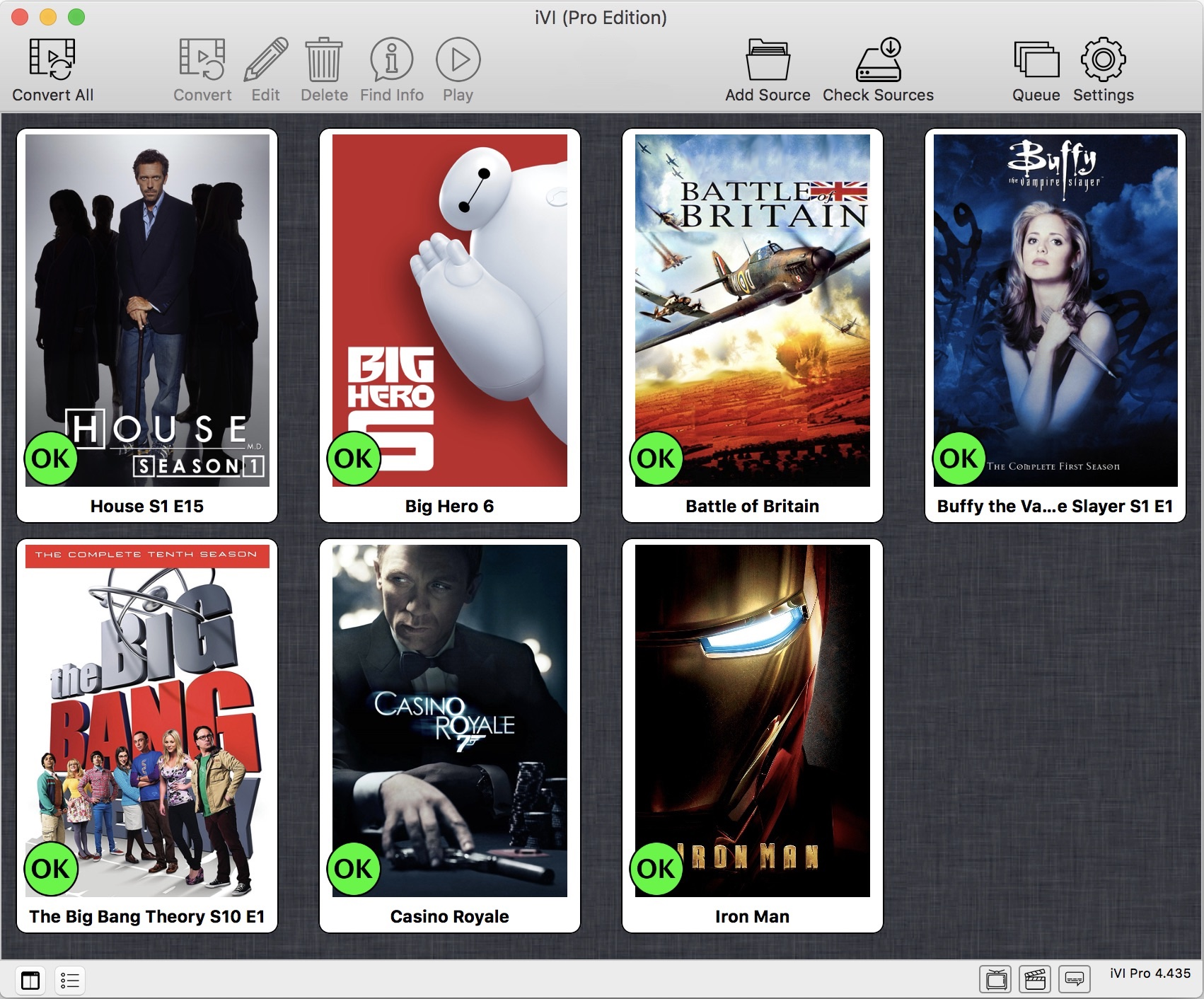 iVI 4 Video Converter Screenshot